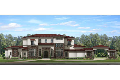 8 Bed, 6 Bath, 7174 Square Foot House Plan - #3978-00064