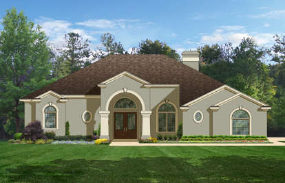 4 Bed, 3 Bath, 2414 Square Foot House Plan - #3978-00070
