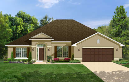 4 Bed, 3 Bath, 2508 Square Foot House Plan - #3978-00074