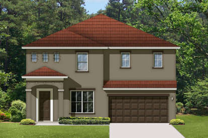 5 Bed, 3 Bath, 3090 Square Foot House Plan - #3978-00109