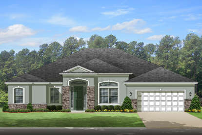 4 Bed, 3 Bath, 3068 Square Foot House Plan - #3978-00158