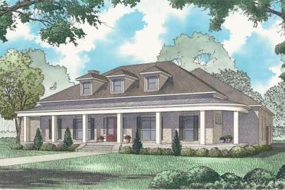 3 Bed, 3 Bath, 4139 Square Foot House Plan - #8318-00087