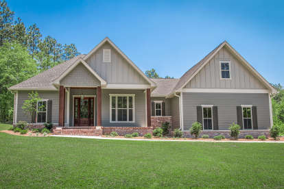 3 Bed, 2 Bath, 2086 Square Foot House Plan #041-00176