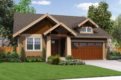 3 Bed, 2 Bath, 1529 Square Foot House Plan #2559-00679