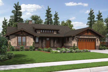 3 Bed, 3 Bath, 1988 Square Foot House Plan #2559-00683