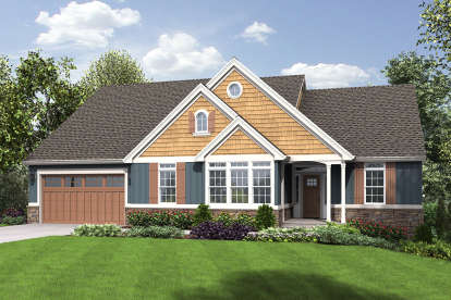 4 Bed, 3 Bath, 2933 Square Foot House Plan - #2559-00690