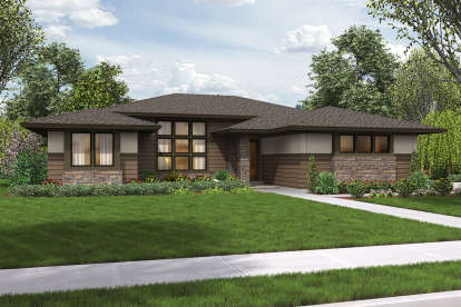 4 Bed, 2 Bath, 2136 Square Foot House Plan #2559-00702