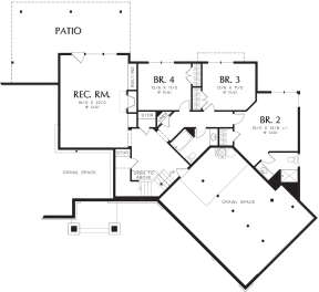 Basement  for House Plan #2559-00708