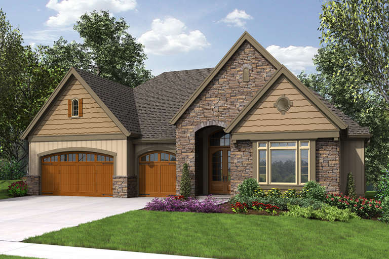 Traditional House Plan #2559-00712 Elevation Photo