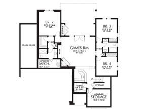 Basement  for House Plan #2559-00712