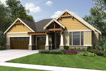 4 Bed, 3 Bath, 3626 Square Foot House Plan - #2559-00713