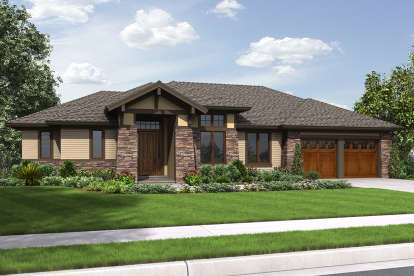 3 Bed, 3 Bath, 2694 Square Foot House Plan #2559-00714