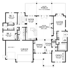 Main Floor  for House Plan #2559-00720