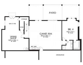 Basement  for House Plan #2559-00720