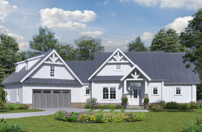 5 Bed, 3 Bath, 2005 Square Foot House Plan - #699-00102
