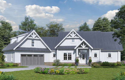 3 Bed, 2 Bath, 2399 Square Foot House Plan - #699-00103