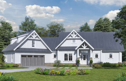 4 Bed, 3 Bath, 3123 Square Foot House Plan - #699-00104