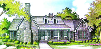 4 Bed, 2 Bath, 3158 Square Foot House Plan - #048-00189