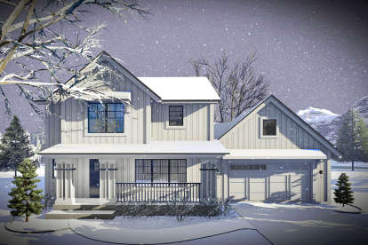 3 Bed, 2 Bath, 1484 Square Foot House Plan - #1020-00002