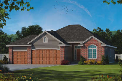 2 Bed, 2 Bath, 1788 Square Foot House Plan - #402-01554