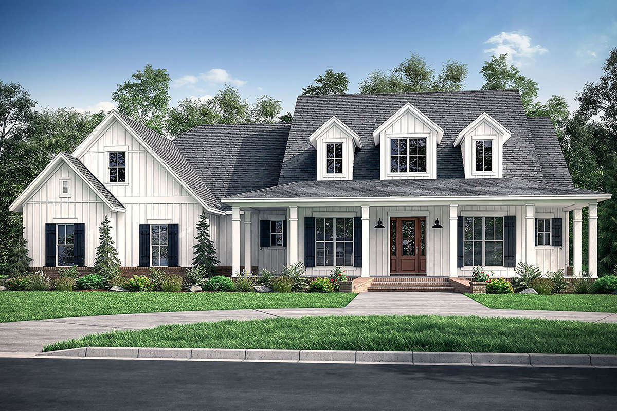 Modern Farmhouse Plan: 2,926 Square Feet, 4-5 Bedrooms, 3 ...