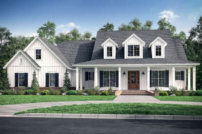 4 Bed, 3 Bath, 2926 Square Foot House Plan #041-00179