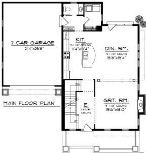 Main Floor for House Plan #1020-00175