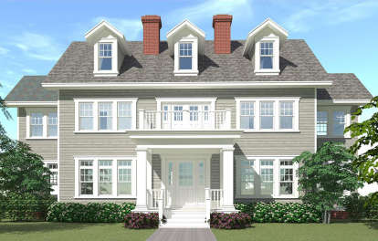 4 Bed, 4 Bath, 3347 Square Foot House Plan #028-00041