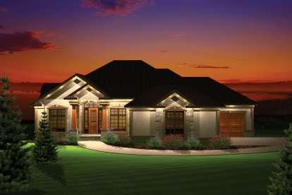 3 Bed, 2 Bath, 3246 Square Foot House Plan - #1020-00250