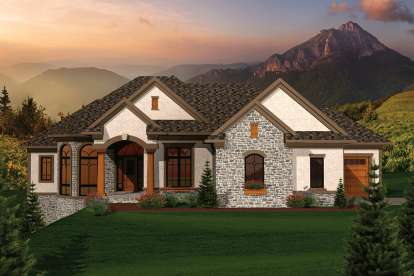 3 Bed, 3 Bath, 3999 Square Foot House Plan - #1020-00251