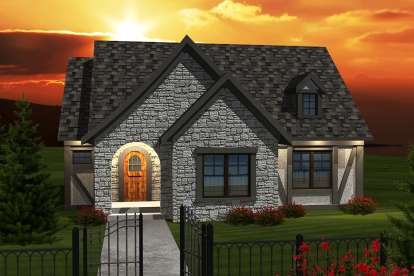 2 Bed, 2 Bath, 1398 Square Foot House Plan #1020-00252