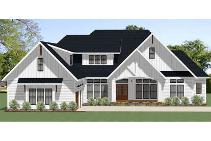 3 Bed, 2 Bath, 2847 Square Foot House Plan - #6849-00047