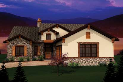 2 Bed, 2 Bath, 1993 Square Foot House Plan #1020-00306