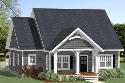 3 Bed, 2 Bath, 1490 Square Foot House Plan - #6849-00051