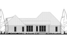 French Country House Plan #041-00180 Elevation Photo