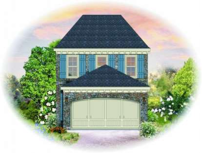 2 Bed, 2 Bath, 1320 Square Foot House Plan - #053-00004