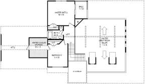 Second Floor for House Plan #940-00115
