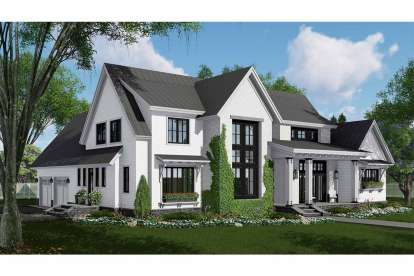 4 Bed, 2 Bath, 2837 Square Foot House Plan - #098-00304