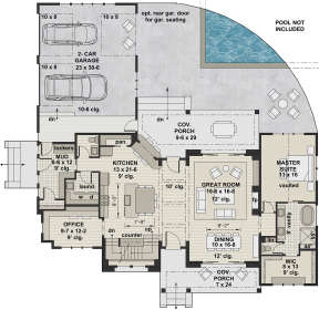 Main Floor for House Plan #098-00304
