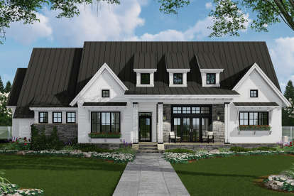 3 Bed, 2 Bath, 2287 Square Foot House Plan - #098-00305
