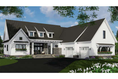 3 Bed, 2 Bath, 2340 Square Foot House Plan - #098-00306