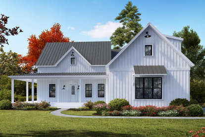3 Bed, 2 Bath, 2230 Square Foot House Plan - #699-00110