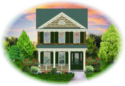 2 Bed, 2 Bath, 1410 Square Foot House Plan - #053-00008