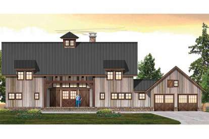 3 Bed, 3 Bath, 3159 Square Foot House Plan - #8504-00171