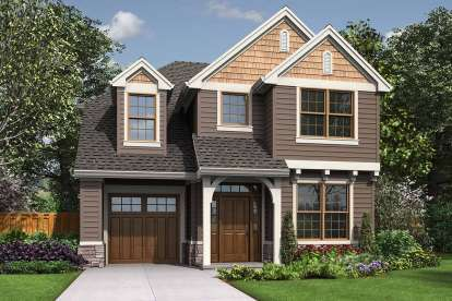 4 Bed, 2 Bath, 1687 Square Foot House Plan #2559-00747