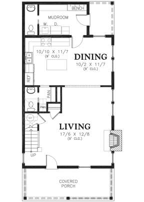 Main Floor for House Plan #2559-00771