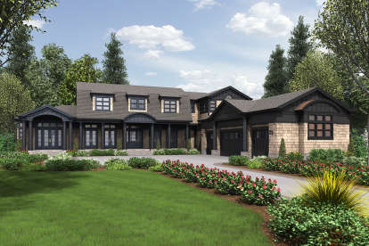 4 Bed, 4 Bath, 4903 Square Foot House Plan - #2559-00785