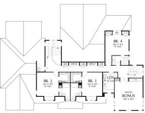 Second Floor for House Plan #2559-00785