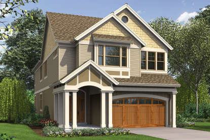5 Bed, 3 Bath, 3048 Square Foot House Plan - #2559-00798