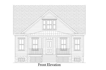 Cottage House Plan #4351-00008 Elevation Photo